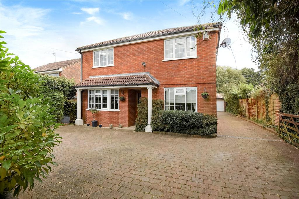 4 Bedrooms Detached House for sale in Old Kempshott Lane, Basingstoke, RG22