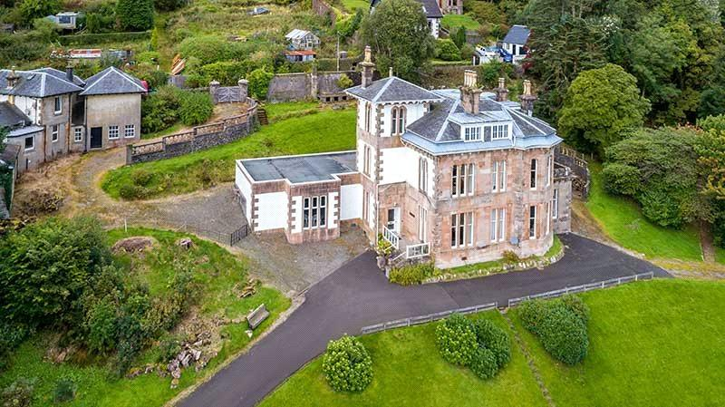 9 Bedrooms Detached House for sale in Blairmore House, Blairmore, Dunoon, Argyll, PA23