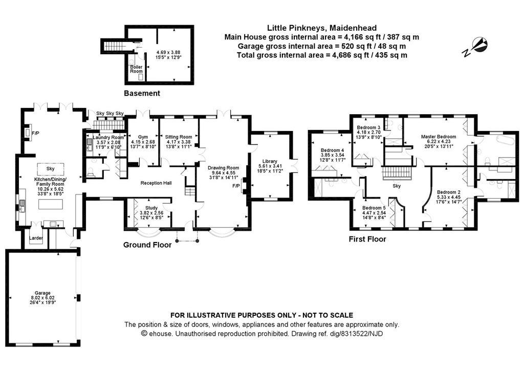 Lee Lane Pinkneys Green Maidenhead, 31 X 17 Basement Windows