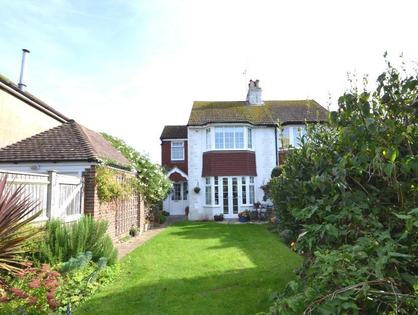 3 Bedrooms Semi Detached House for sale in Wallace Avenue, West Worthing, BN11 5QF
