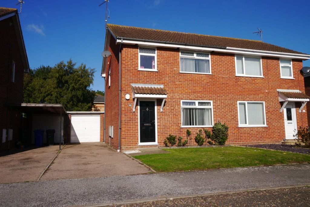 3 Bedrooms Semi Detached House for sale in Copper Beech Drive, Carlton Colville, Lowestoft