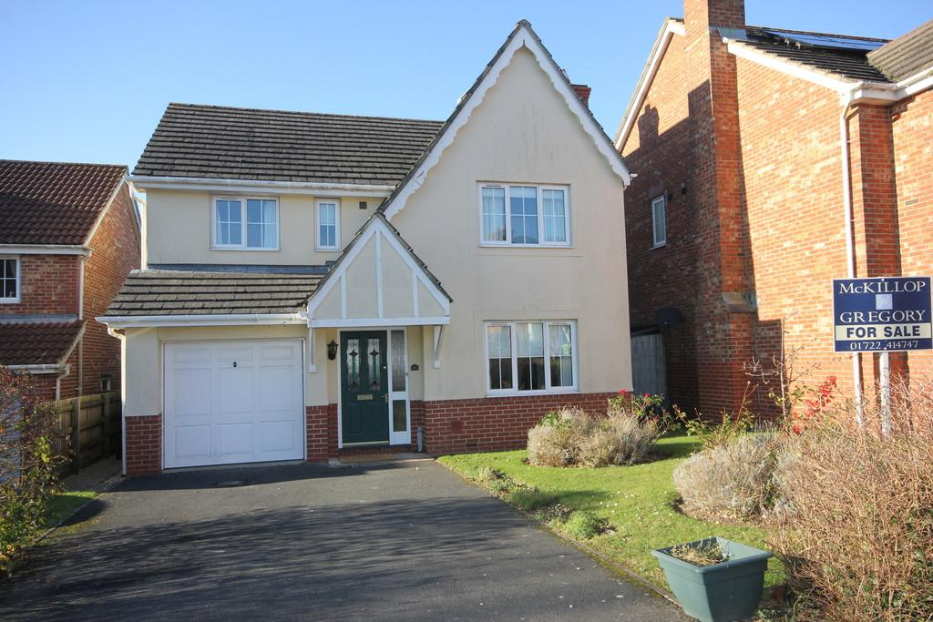 4 Bedrooms Detached House for sale in ANDREWS WAY, HARNHAM, SALISBURY, WILTSHIRE, SP2 8QR