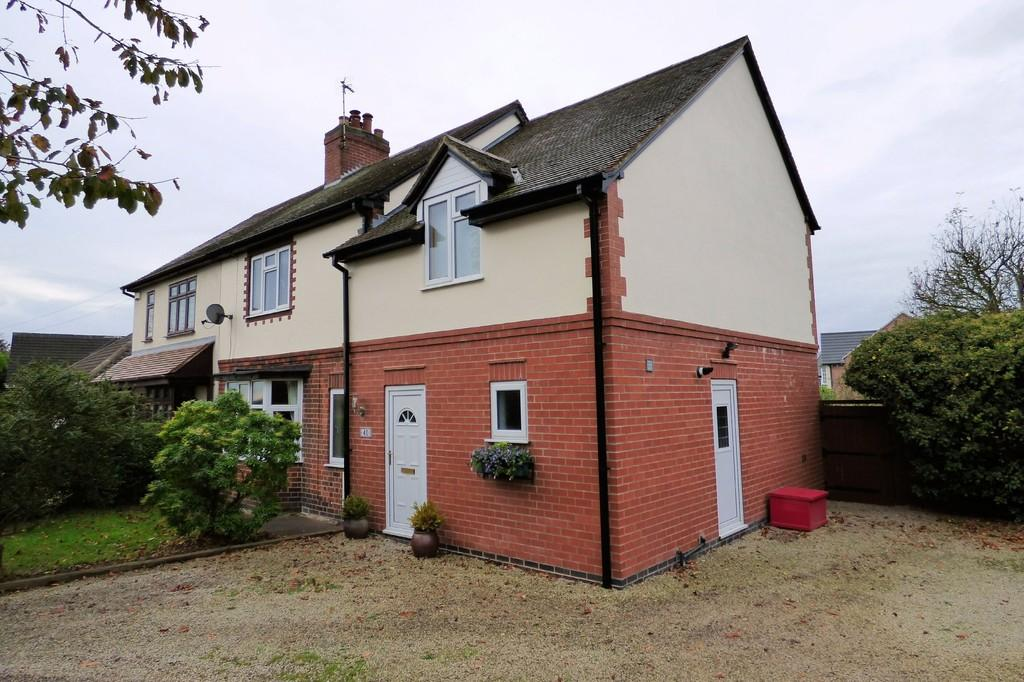 4 Bedrooms Semi Detached House for sale in Ibstock Road, Ravenstone