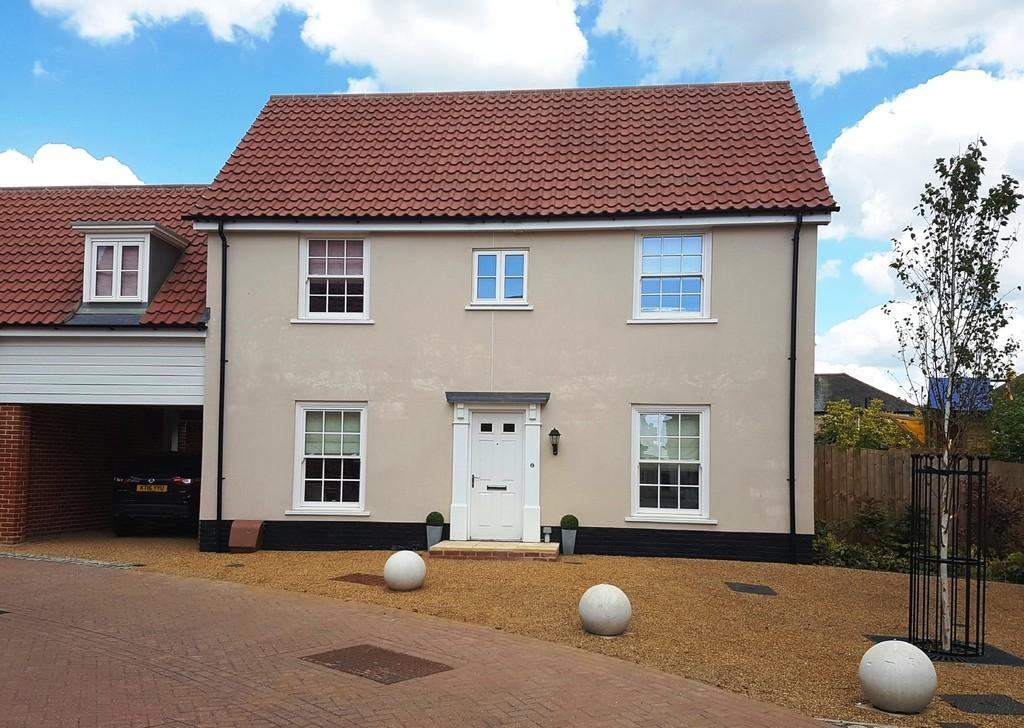 4 Bedrooms Link Detached House for sale in Griffiths Close, Ipswich, IP4 3ER