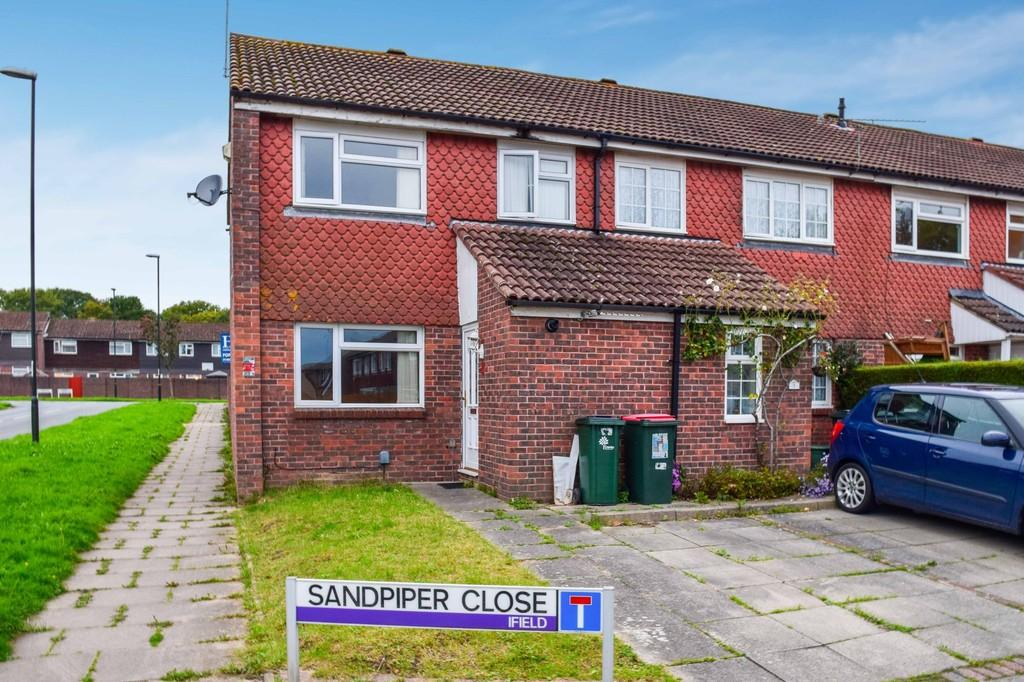 3 Bedrooms End Of Terrace House for sale in Sandpiper Close, Ifield West