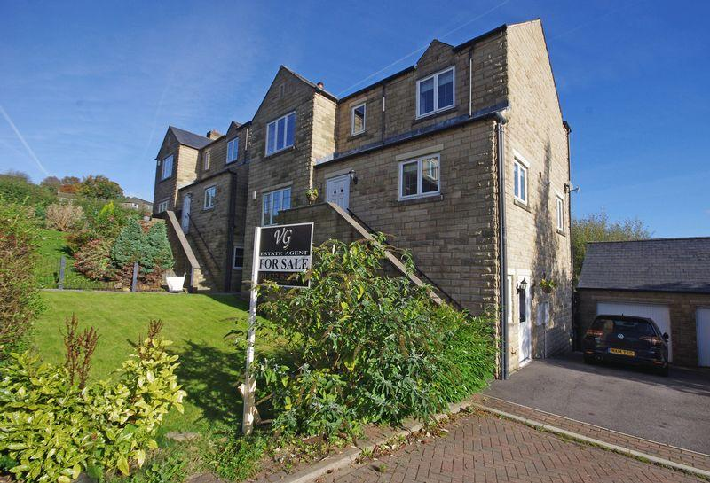 5 Bedrooms Detached House for sale in 11 Halstead Close, Ripponden, HX6 4JQ
