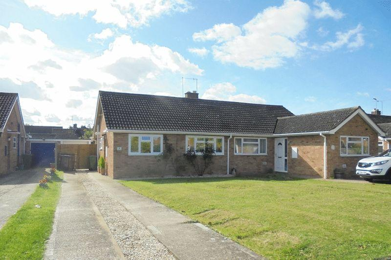 2 Bedrooms Semi Detached Bungalow for sale in Sally Close, Evesham