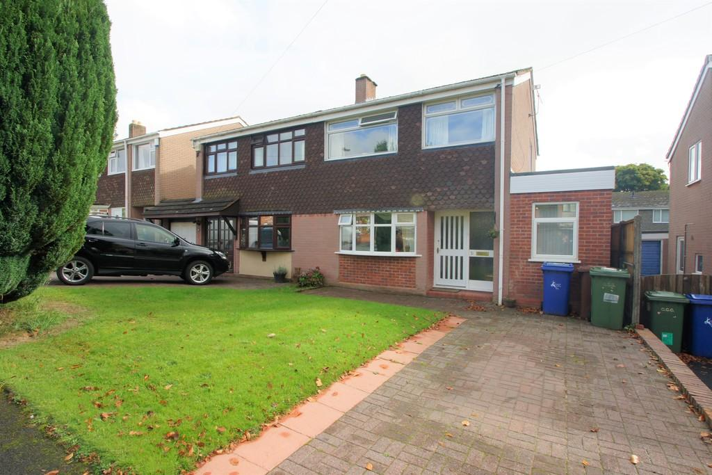 3 Bedrooms Semi Detached House for sale in Rowan Road, Shoal Hill, Cannock