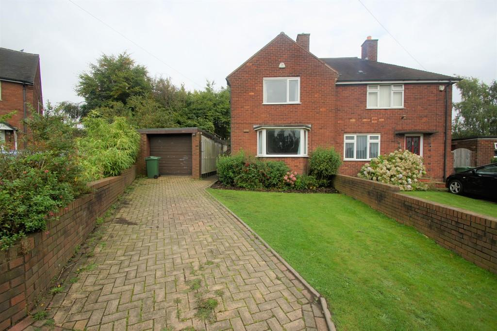 2 Bedrooms Semi Detached House for sale in Westminster Road, Cannock