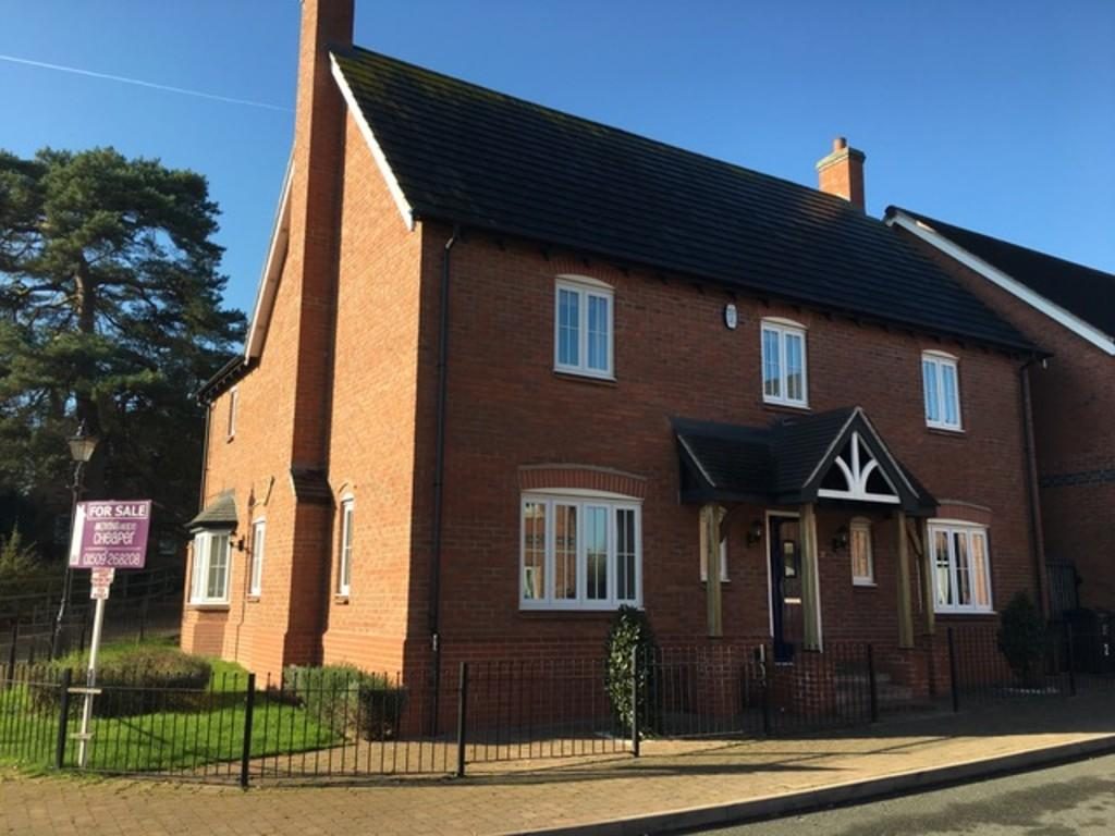 4 Bedrooms Detached House for sale in William Everard Close, Rearsby