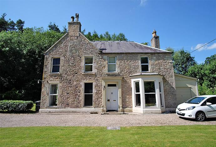 5 Bedrooms Detached House for sale in The Allars House , Jedburgh, TD8 6NR