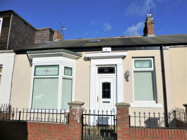 3 Bedrooms Terraced Bungalow for sale in JOHN CANDLISH ROAD, MILLFIELD, SUNDERLAND SOUTH