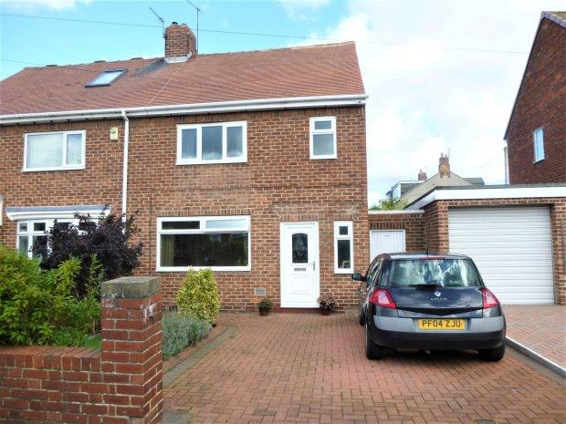 2 Bedrooms Semi Detached House for sale in CAMBRIDGE ROAD, SILKSWORTH, SUNDERLAND SOUTH