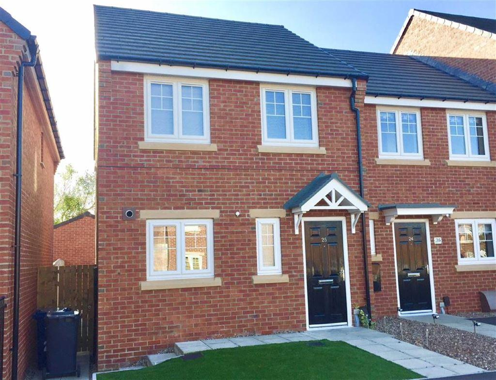 3 Bedrooms End Of Terrace House for sale in Harton Court, South Shields