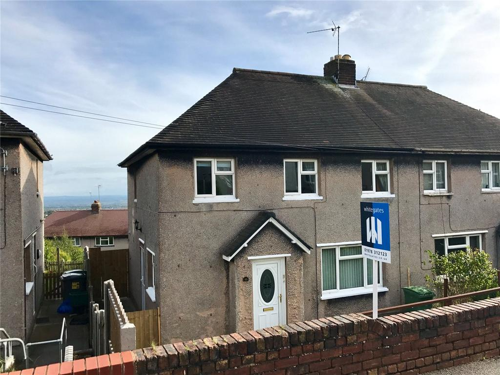 3 Bedrooms Semi Detached House for sale in Cheshire View, Brymbo, Wrexham, LL11