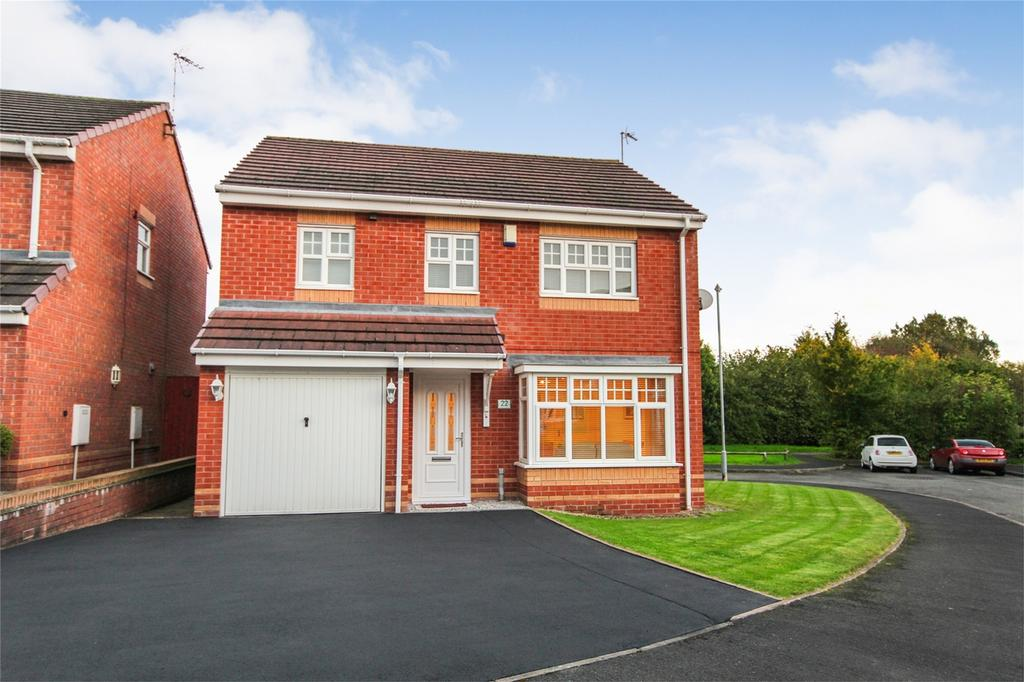 4 Bedrooms Detached House for sale in Warwick Avenue, Cheadle, Staffordshire