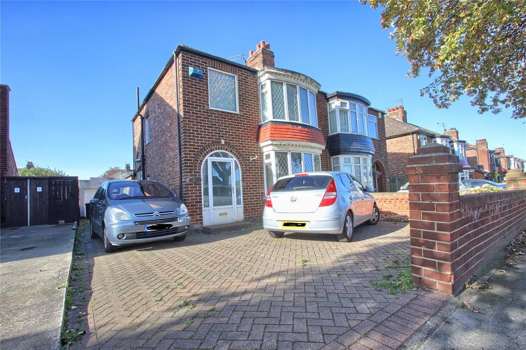 2 Bedrooms Semi Detached House for sale in Stirling Road, Redcar