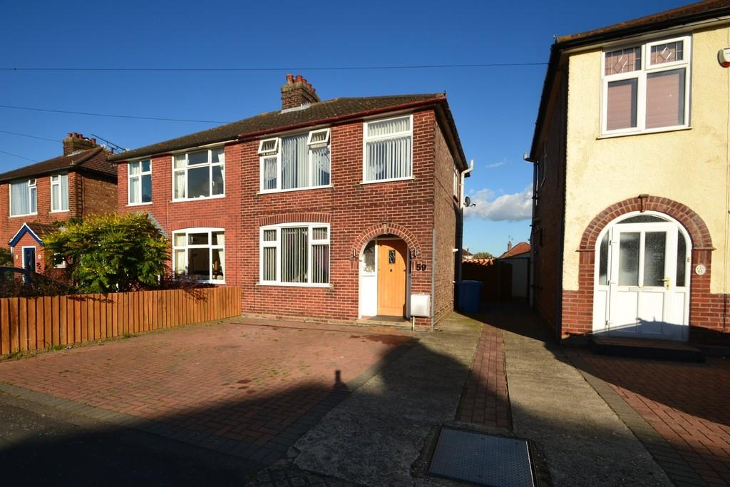 3 Bedrooms Semi Detached House for sale in Fairfield Road, Ipswich, IP3 9LB