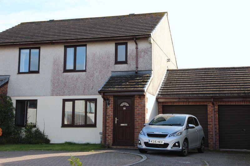 3 Bedrooms Semi Detached House for sale in Penhale Gardens, Fraddon