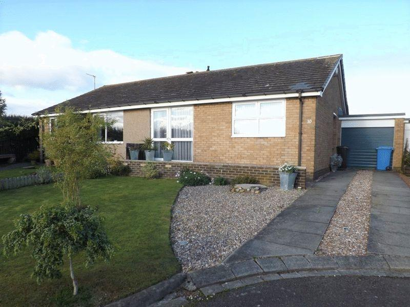 2 Bedrooms Bungalow for sale in Fontburn, Ellington, Two Bedroom Semi Detached Bungalow