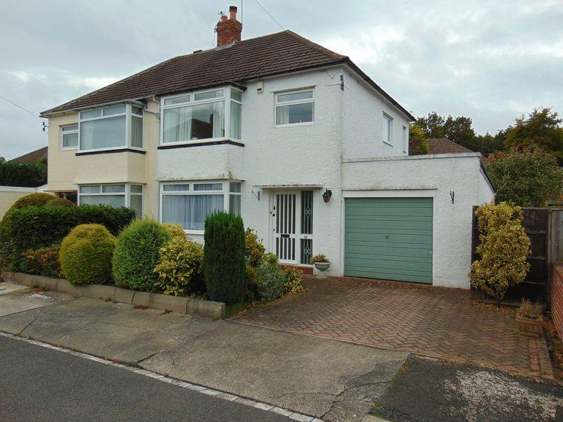 3 Bedrooms Semi Detached House for sale in Dene Avenue, West Moor, Newcastle Upon Tyne