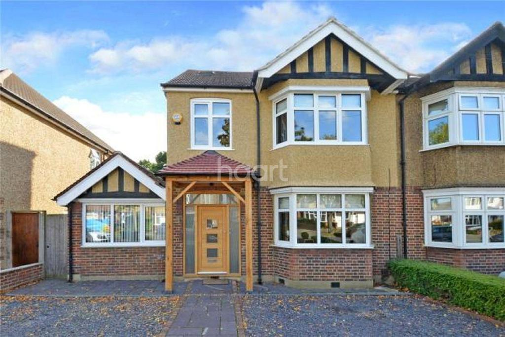5 Bedrooms Semi Detached House for sale in Wickham Avenue, Sutton, SM3