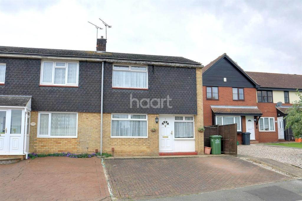 2 Bedrooms End Of Terrace House for sale in Kent View Road, Basildon