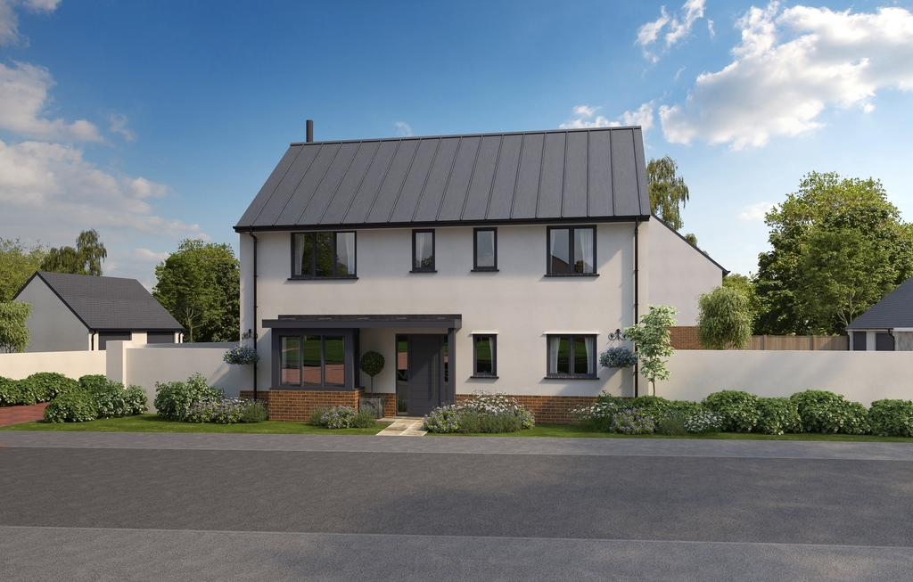 3 Bedrooms Detached House for sale in Off Culm Lea, Cullompton EX15 1NJ