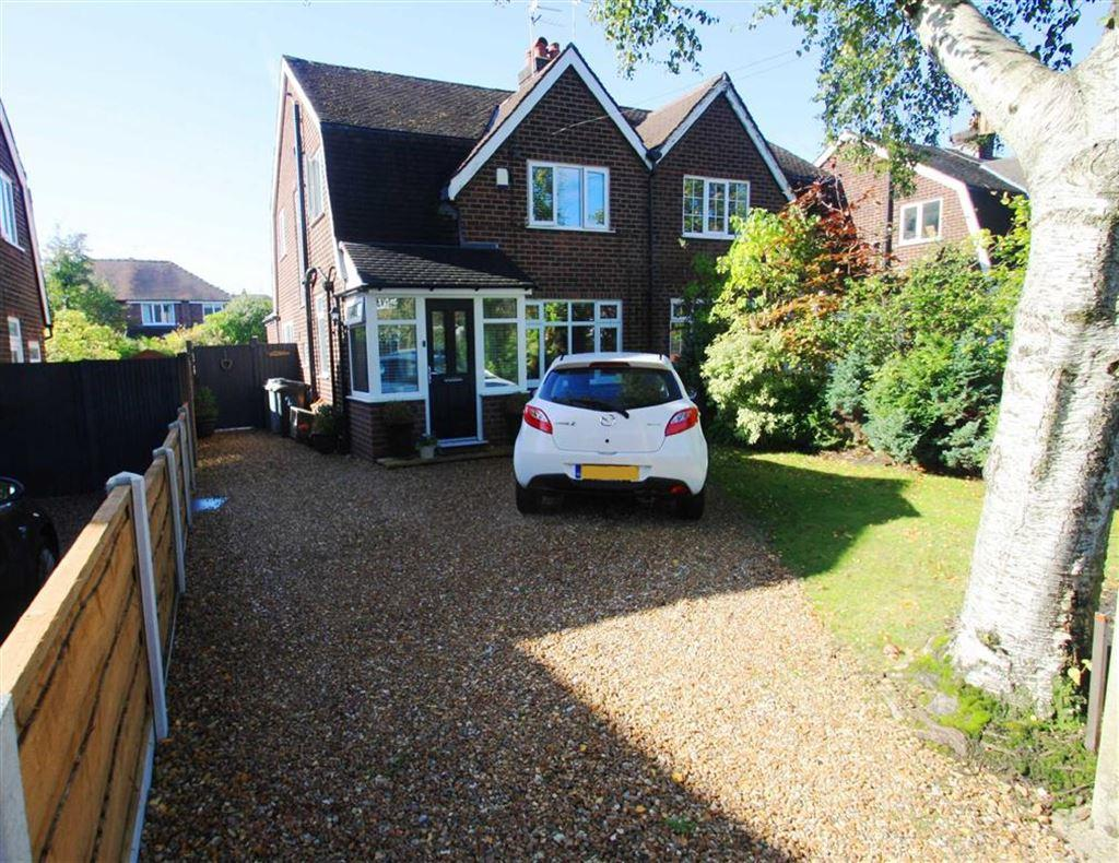 3 Bedrooms Semi Detached House for sale in Wallingford Road, Handforth