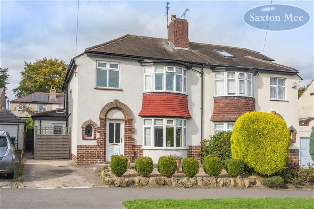 3 Bedrooms Semi Detached House for sale in Cardoness Road, Crosspool, Sheffield, S10