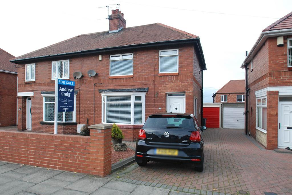 3 Bedrooms Semi Detached House for sale in Marsden Road, South Shields