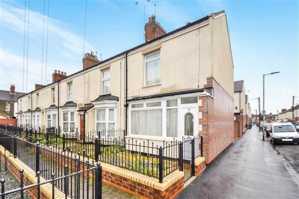 2 Bedrooms End Of Terrace House for sale in Mables Villas, Holland Street, Hull, East Yorkshire, HU9
