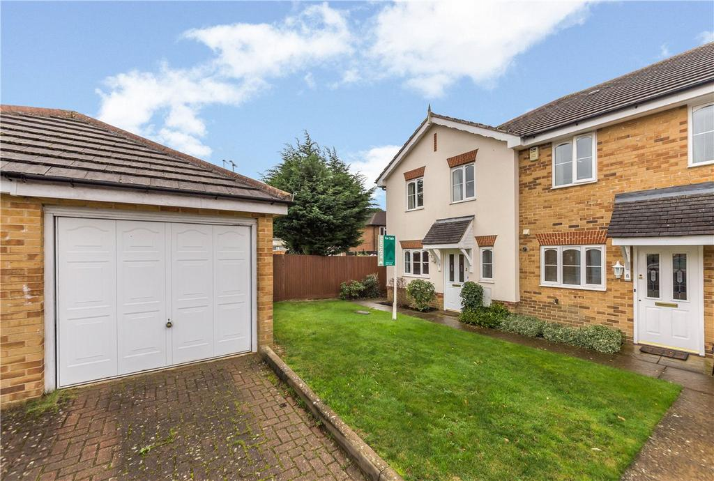 3 Bedrooms End Of Terrace House for sale in Liberty Walk, St. Albans, Hertfordshire