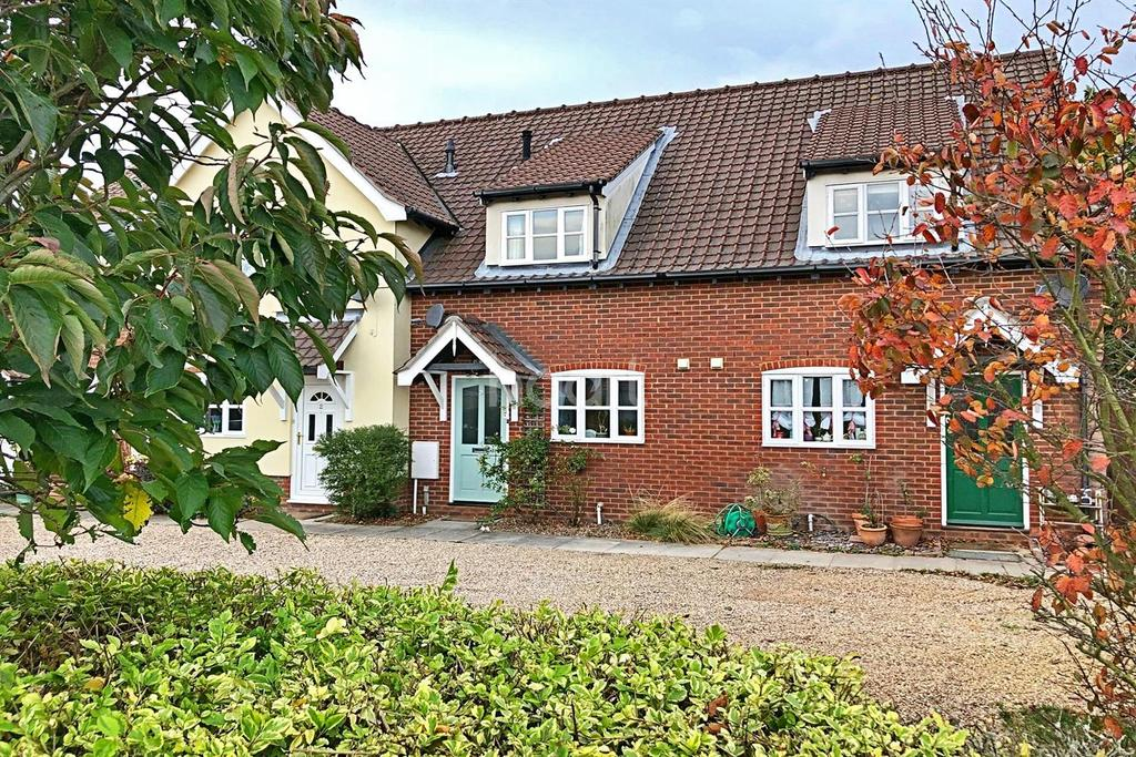 2 Bedrooms Terraced House for sale in East End Lane, East Bergholt, Essex
