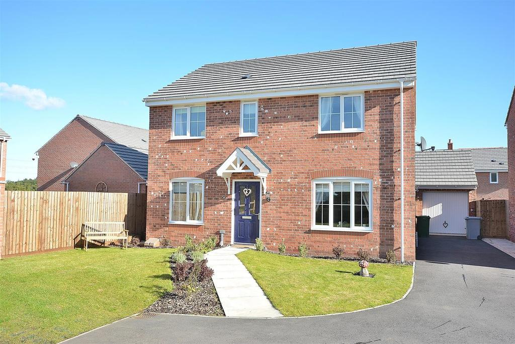 4 Bedrooms Detached House for sale in Kerry Close, Clipstone Village
