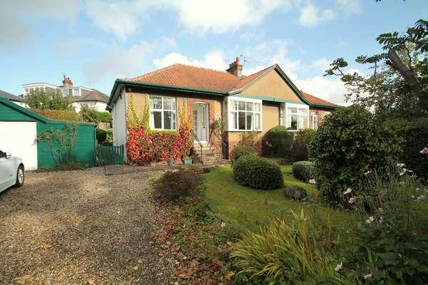 3 Bedrooms Semi Detached Bungalow for sale in 63 Braidholm Road, Giffnock, Glasgow, G46 6EN