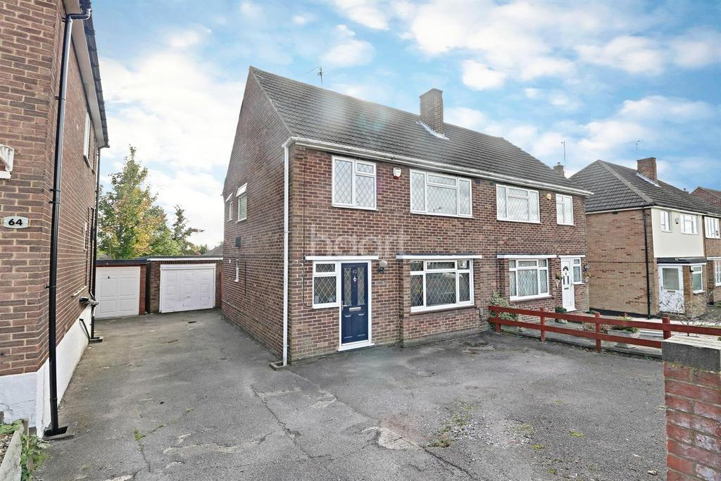 3 Bedrooms Semi Detached House for sale in Hill Rise, LU3