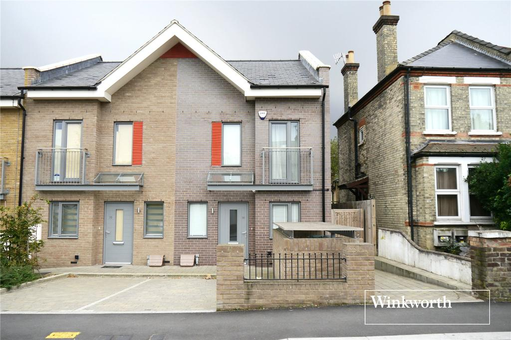 4 Bedrooms End Of Terrace House for sale in Victoria Road, New Barnet, Herts, EN4
