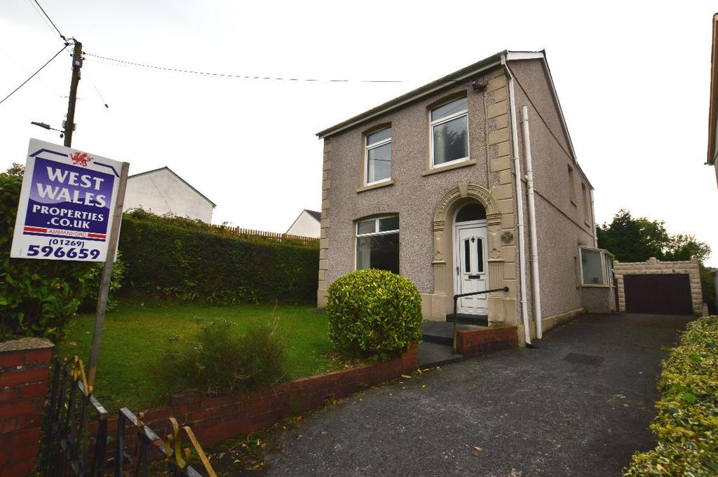 3 Bedrooms Detached House for sale in Garnant, Ammanford