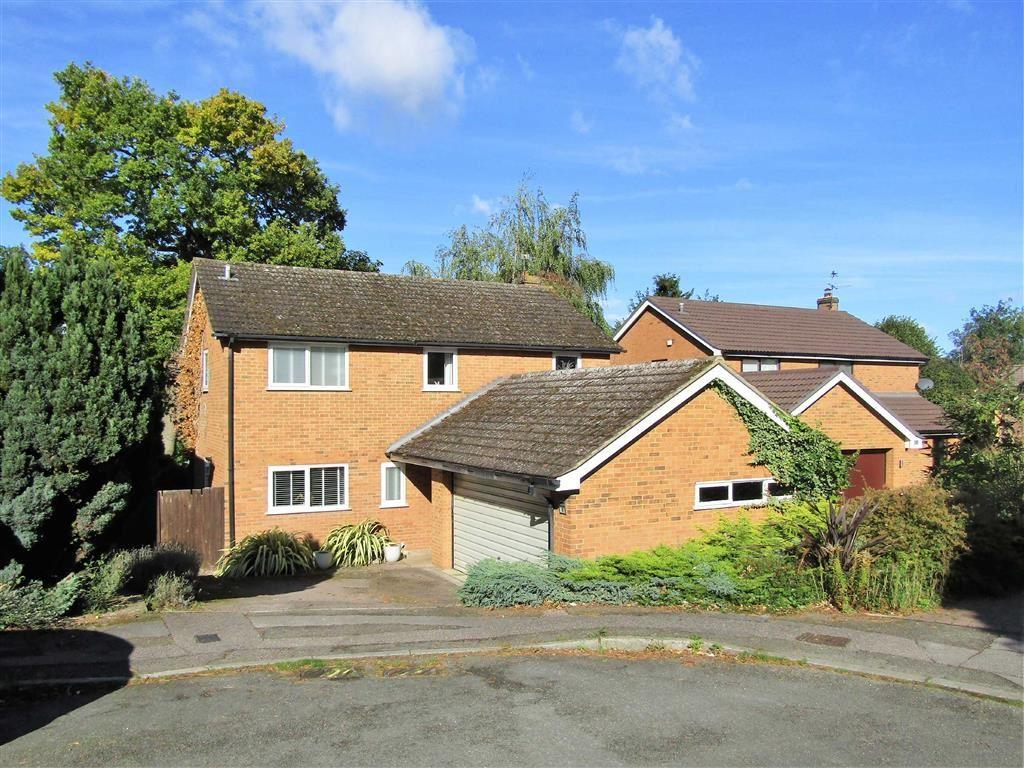 4 Bedrooms Detached House for sale in Standhill Close, Hitchin, SG4
