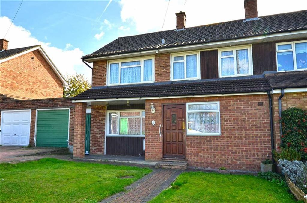 3 Bedrooms Semi Detached House for sale in Mallard Way, Watford, Hertfordshire