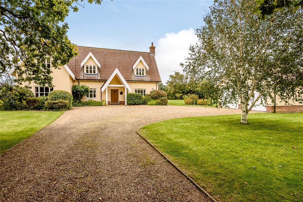 4 Bedrooms Detached House for sale in Shop Street, Whinburgh, Dereham, Norfolk, NR19
