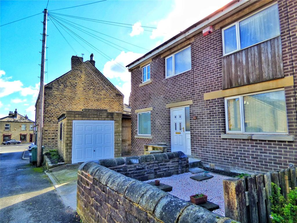 4 Bedrooms Semi Detached House for sale in Baker Street, Lindley, Huddersfield, HD3