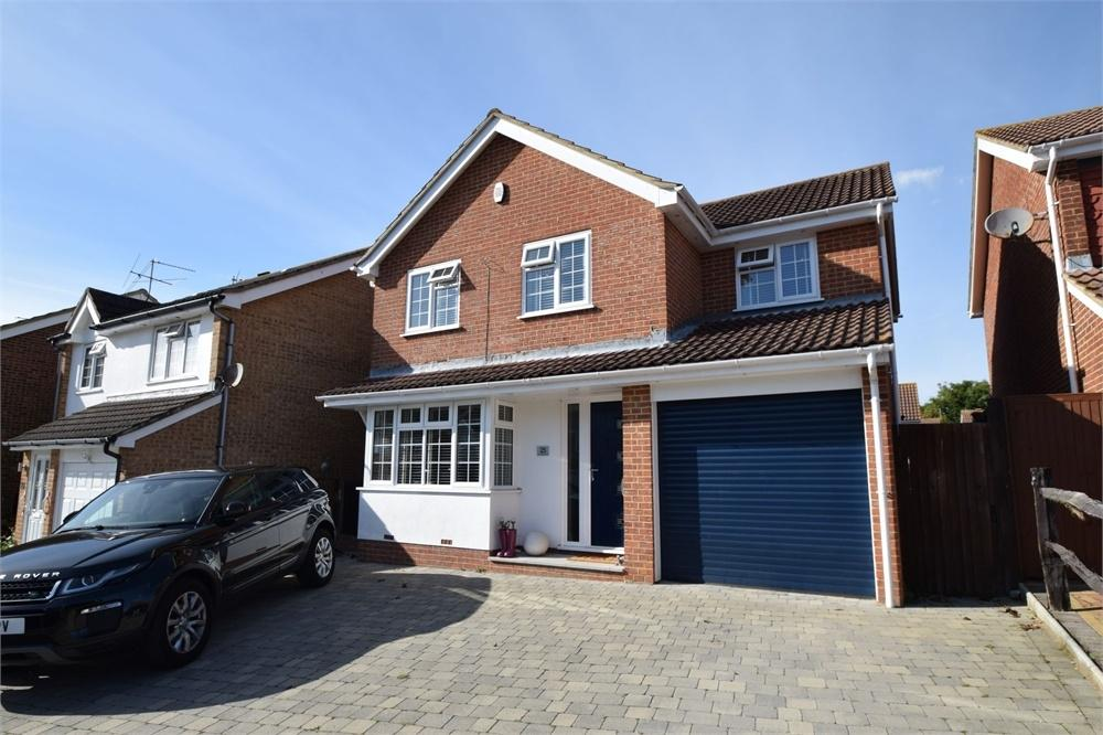4 Bedrooms Detached House for sale in Grasmere Close, North Langney, East Sussex