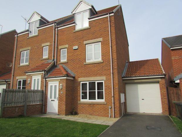 3 Bedrooms Semi Detached House for sale in ROSEBUD CLOSE, BISHOP CUTHBERT, HARTLEPOOL