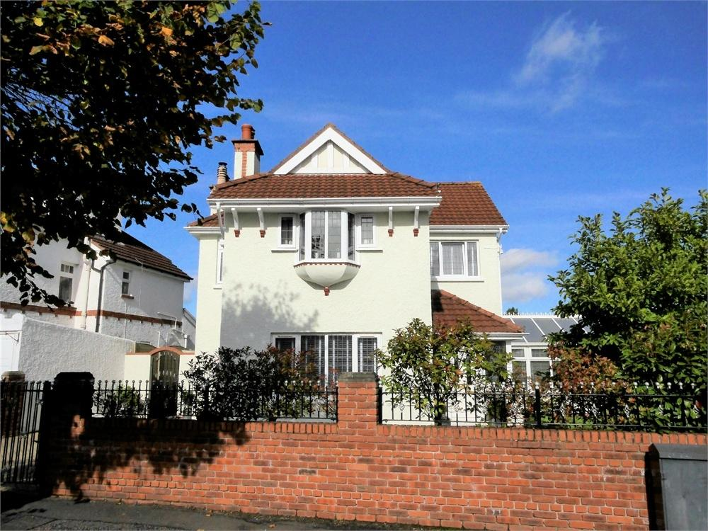 4 Bedrooms Detached House for sale in Wordsworth Avenue, Penarth