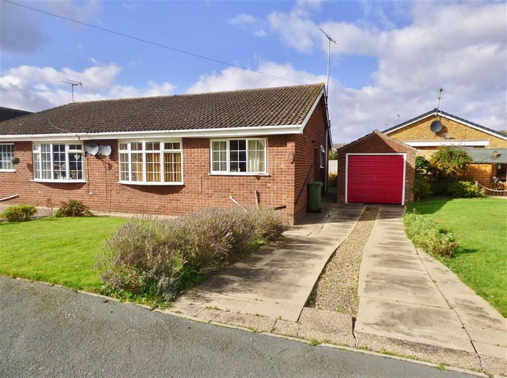 2 Bedrooms Semi Detached Bungalow for sale in Harthill Avenue, Leconfield