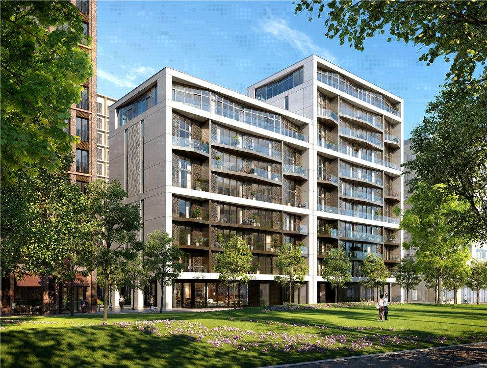3 Bedrooms Flat for sale in Luma, 6 Lewis Cubitt Walk, King's Cross, London, N1C