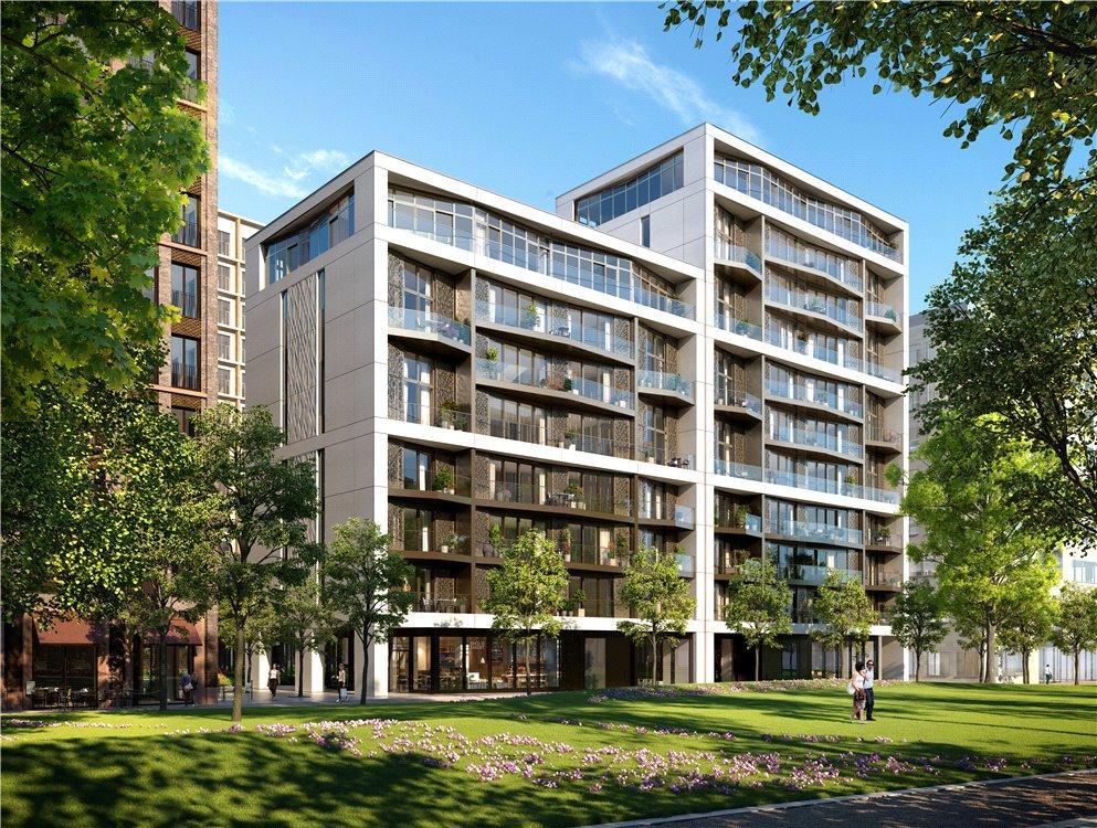 3 Bedrooms Flat for sale in Luma, 6 Lewis Cubitt Walk, King's Cross, London, N1C