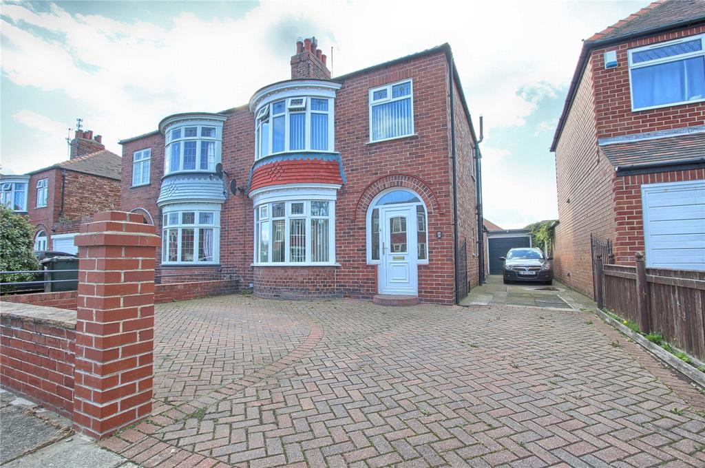 3 Bedrooms Semi Detached House for sale in Windsor Road, Redcar